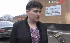 Савченко запела на ТВ: опубликовано видео