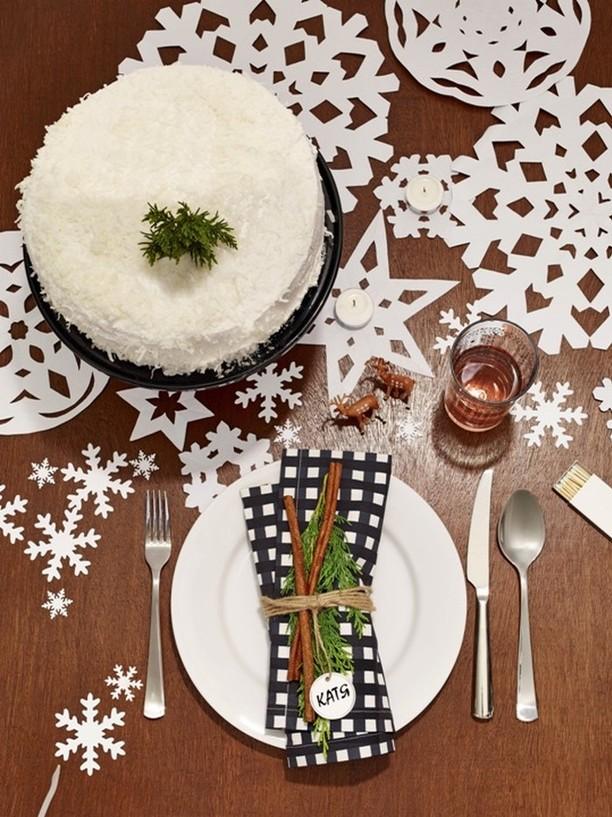 Скоро Новый год: как красиво сервировать праздничный стол (4)
