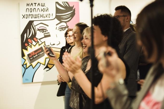 «Шик-модерн»: в Киеве открылась выставка работ молодой украинской художницы (2)