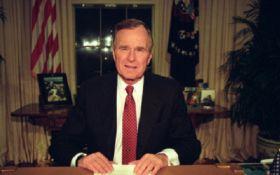 Стало відомо, якими були останні слова Джорджа Буша-старшого