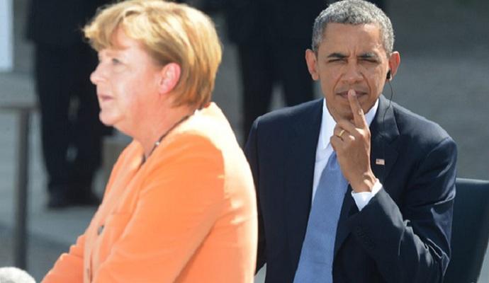 Обама и Меркель обсудили выполнение Минских соглашений