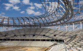 В Росії почав рушитись стадіон, побудований до ЧС-2018: опубліковані фото