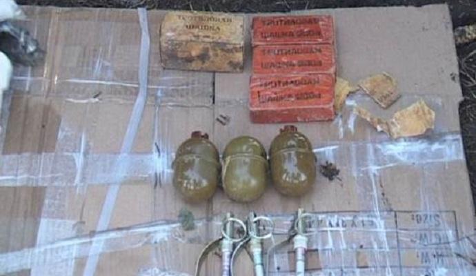 СБУ обнаружила в Днепропетровске тайник со взрывчаткой