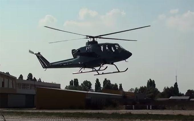 З'явилося відео з новітнім українським вертольотом