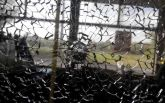 У Харкові обстріляли тролейбус: опубліковані фото