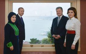 Порошенко в Стамбуле встретился с Эрдоганом: что обсуждали