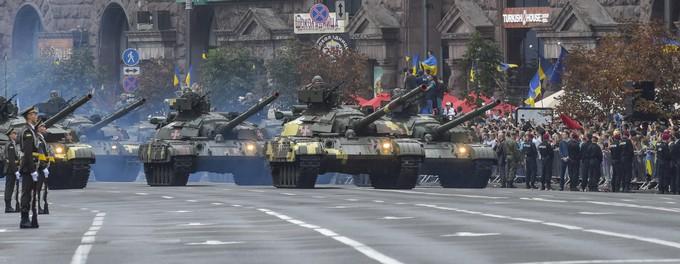 Військовий парад у Києві: з'явилися нові яскраві фото (1)