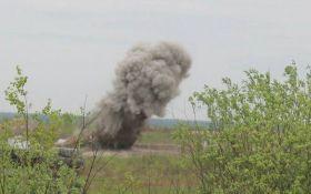 На военном полигоне в Днепропетровской области произошел взрыв, много раненых