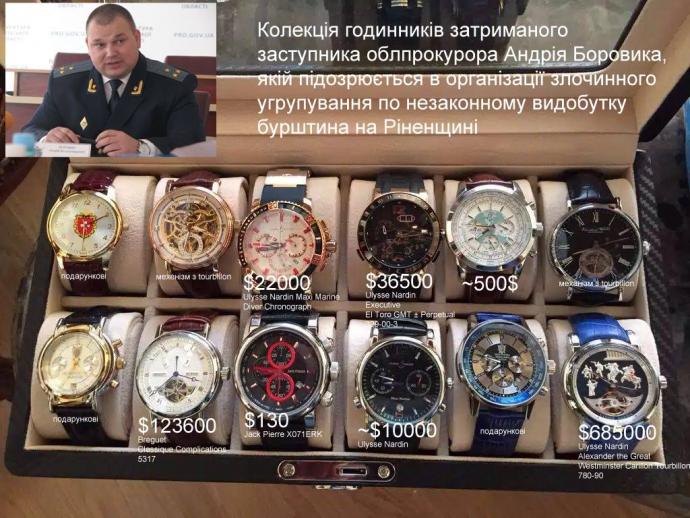 У мережі оцінили скарби, вилучені у рівненського зампрокурора: опубліковані фото (1)