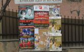 Таємничі патріоти України розвісили листівки в Криму: опубліковані фото