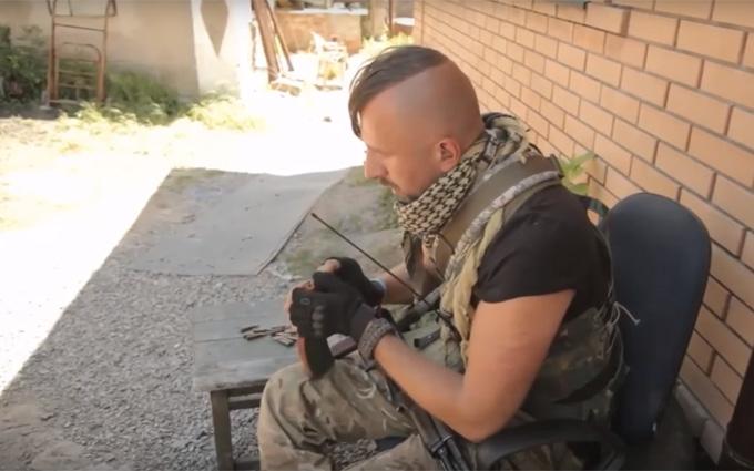 Гучна загибель на Донбасі: з'явилося відео зі співаком в зоні АТО