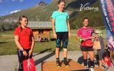 Джима выиграла выставочную гонку на сборах во Франции