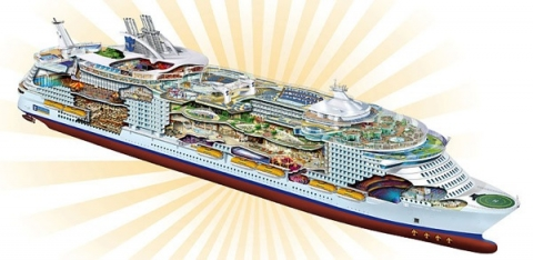 Oasis of the Seas  Oasis Class Ships  Royal Caribbean UK