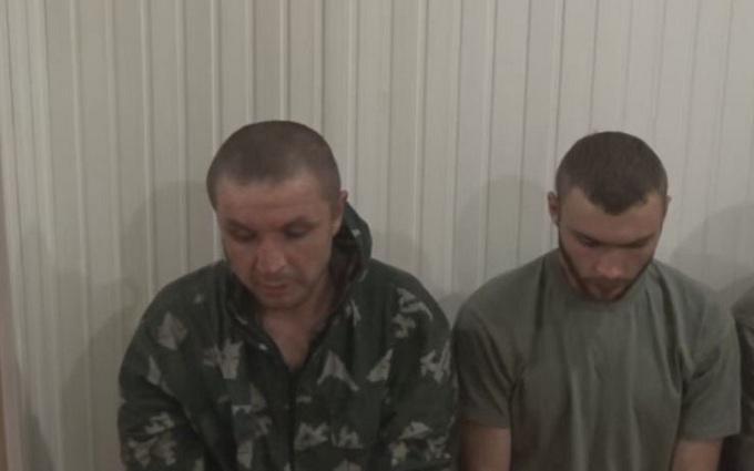 Захоплення в полон бойовиків ДНР: СБУ показала відео допиту
