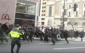 Столкновения в США: появились видео и драматичные подробности