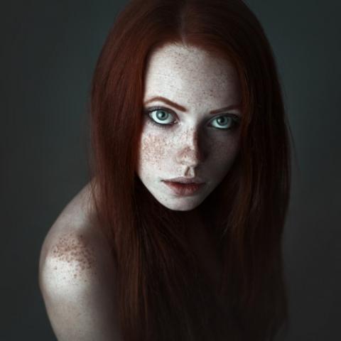 фото рыжая