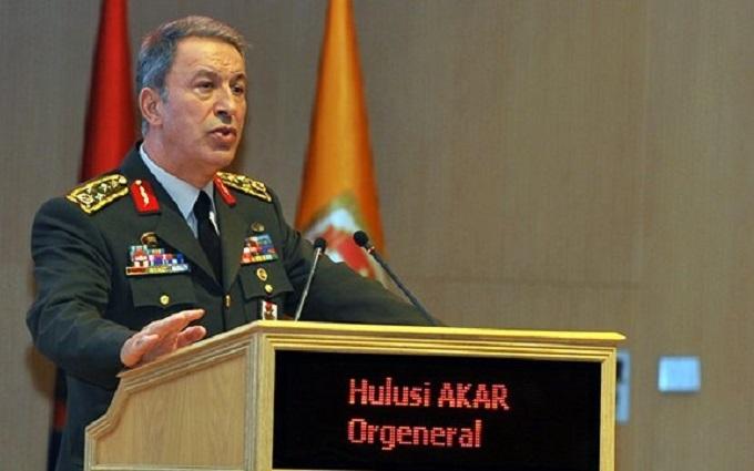 Як звільняли главу Генштабу Туреччини: з'явилося відео