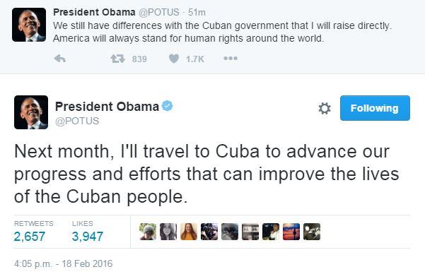 Барак Обама подтвердил исторический визит на Кубу (2)