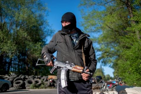 За неделю Донецкая милиция задержала 12 боевиков (1)