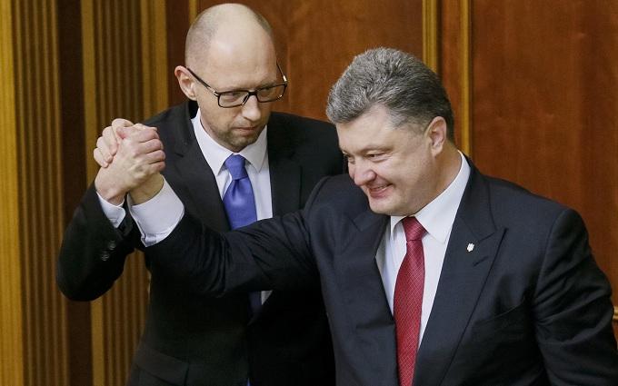 Яценюк рассказал о своих отношениях с Порошенко: опубликовано видео
