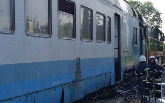 У Чернівецькій області у вагоні потягу сталося задимлення, люди вистрибували з вікон