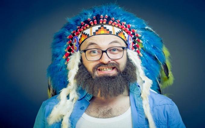 Дзідзьо показав, як виглядає без бороди: опубліковані фото