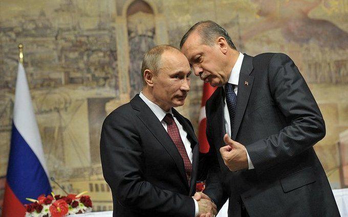 Путин иЭрдоган договорились осоздании демилитаризованной зоны вИдлибе