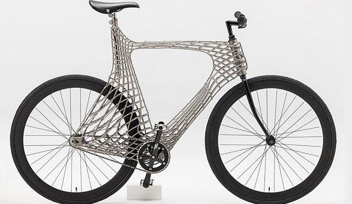 Студенты из Нидерландов создали велосипед с помощью 3D-печати (фото)