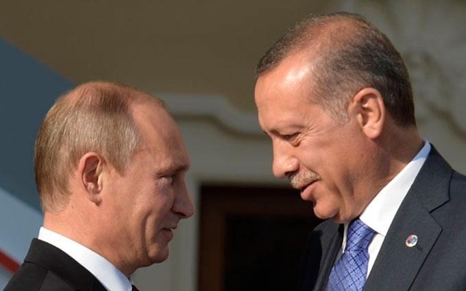 """Стало відомо, як Путін може натиснути на Ердогана заради """"дружби"""""""