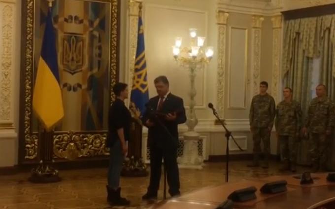 Україна завжди буде: з'явилося повне відео заяви Порошенка і Савченко