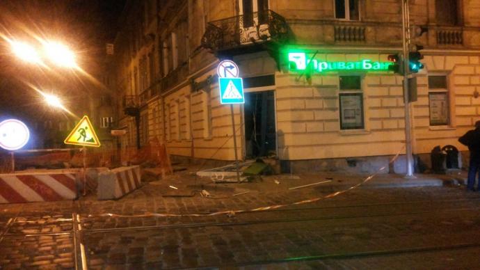 У Львові пролунав вибух: з'явилися фото з місця інциденту (2)