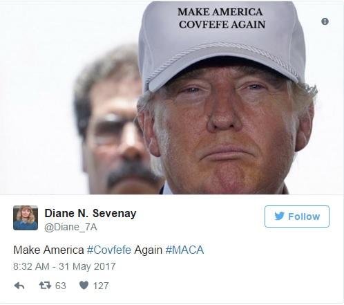 Трамп знову повеселив мережу загадковим повідомленням у Twitter (2)