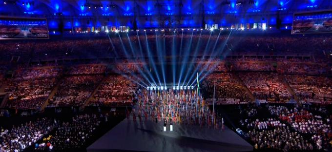 Церемония открытия Паралимпиады-2016: фото и видео из Рио (33)