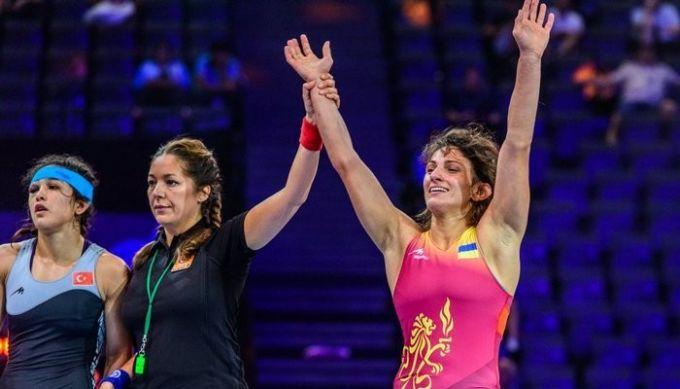 Ткач-Остапчук принесла Украине первую медаль чемпионата мира поборьбе