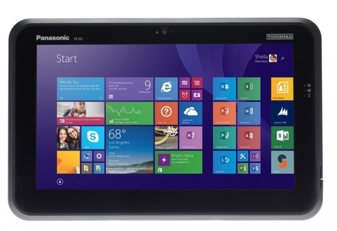 Panasonic представила посилений Windows-планшет ToughPad FZ-Q1