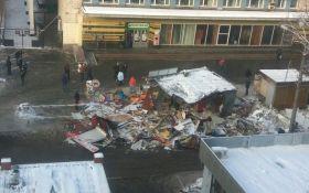 Знесення МАФів в Києві: з'явилося відео руїн