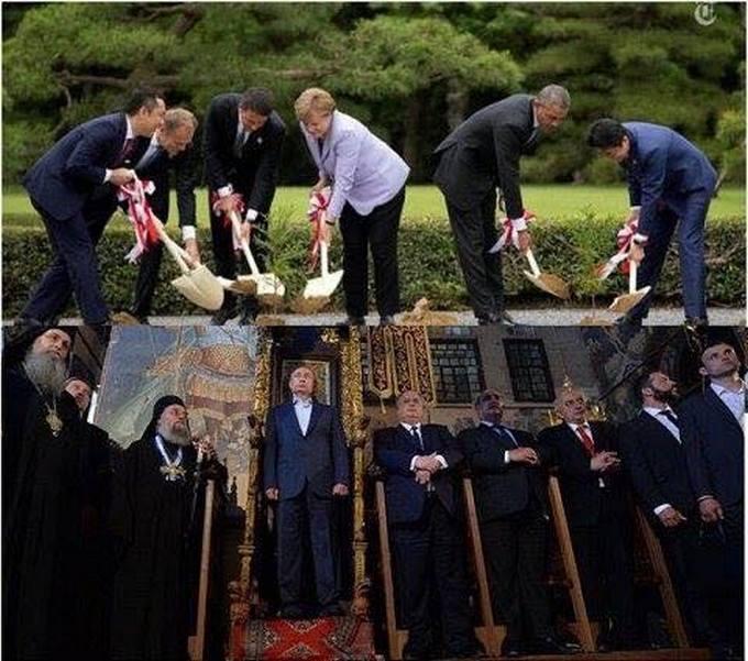 Закопують: в мережі продовжують висміювати фото Путіна на троні (1)