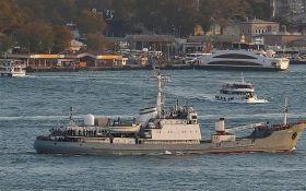 Российский военный корабль потерпел крушение у берегов Турции: 15 моряков пропали без вести