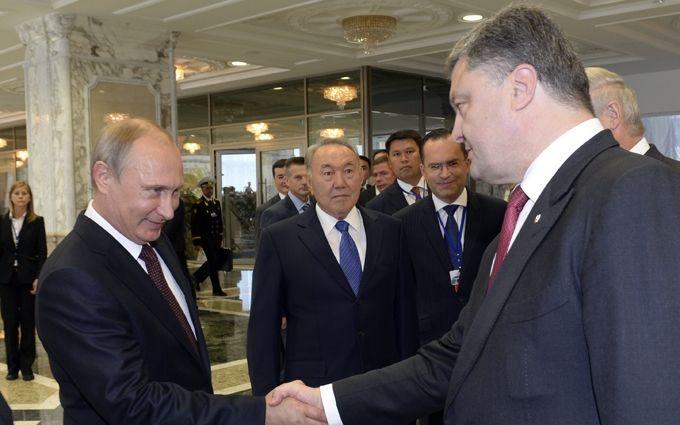 В Україні висунули умову зустрічі Порошенка з Путіним