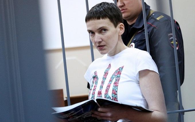 Известный карикатурист показал истинное лицо суда над Савченко