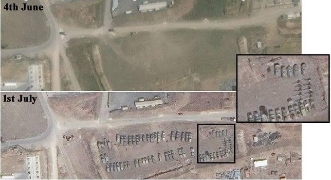 Путін нарощує війська в Сирії: з'явилися фотодокази (1)