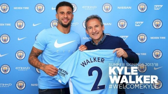 Игрок «Манчестер Сити»: Кайл Уокер