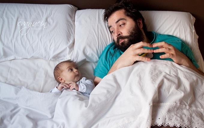 Найкрутіша робота в світі: яскрава підбірка фото татусів і малюків