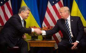 О чем Порошенко говорил с Трампом: в Белом доме рассказали детали
