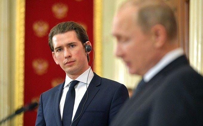 Відповідь Росії на шпигунство: канцлер Австрії здивував несподіваною заявою