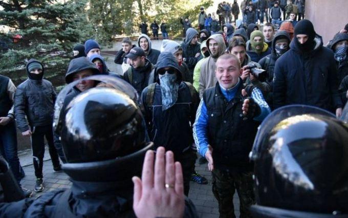 Атака на Марш равенства во Львове: появились фото и видео