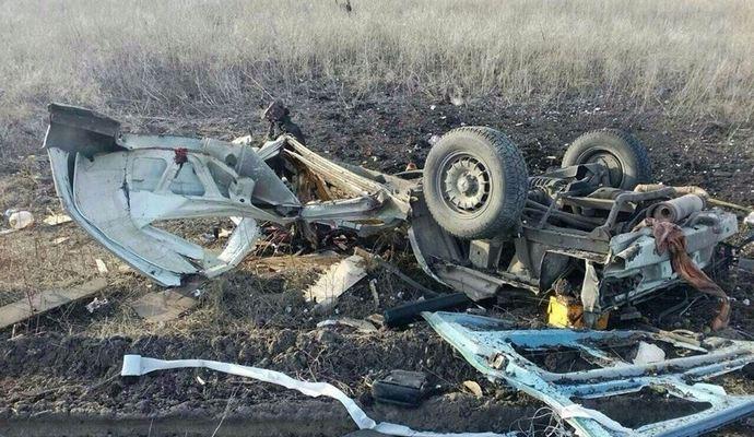 Погиб еще один пассажир подорванного под Марьинкой микроавтобуса