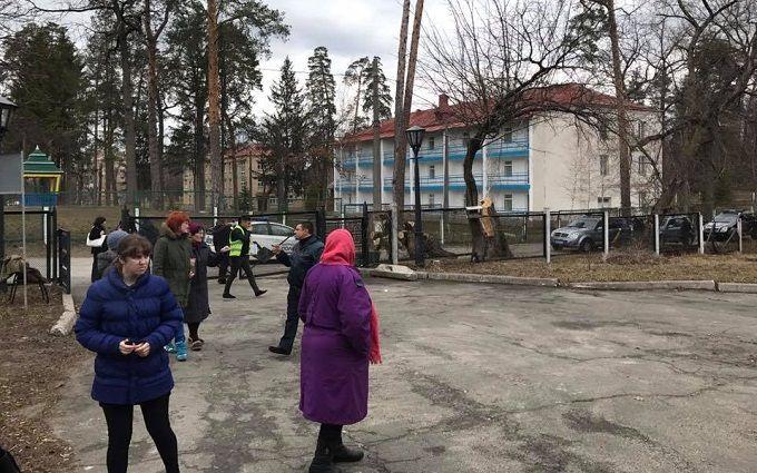 Стрельба в санатории под Киевом: появились новые подробности и фото