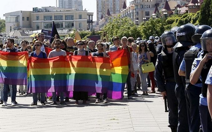 """Ворогів гей-параду в Києві прирівняли до любителів """"руського миру"""""""