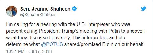 Сенат США разработал план, чтобы узнать содержание частной беседы Путина и Трампа (1)